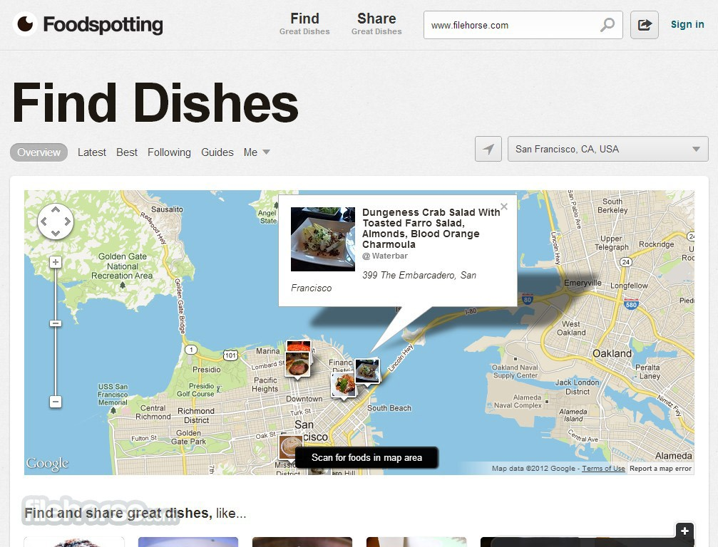 Foodspotting Captura de Pantalla 3