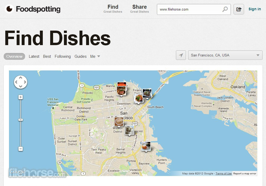 Foodspotting Screenshot 4