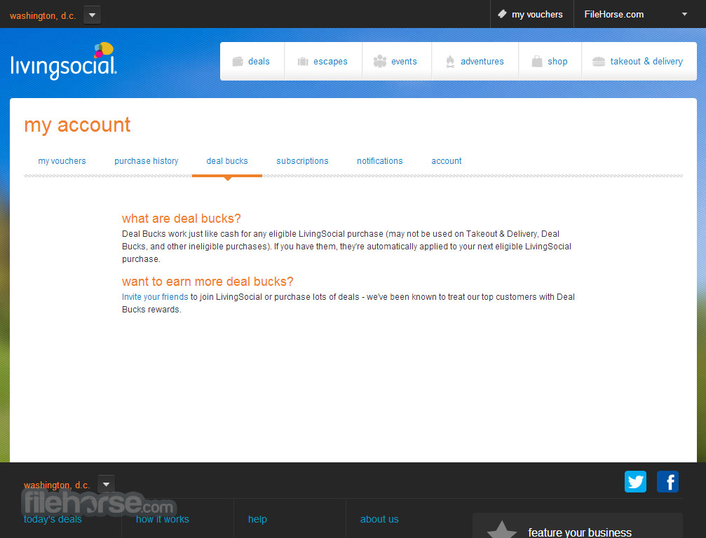 LivingSocial Screenshot 5