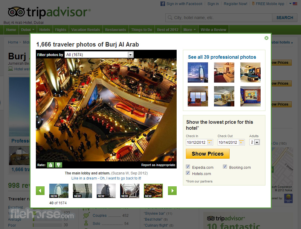 TripAdvisor Screenshot 2