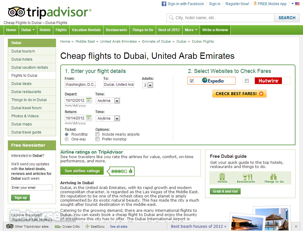 TripAdvisor Screenshot 3