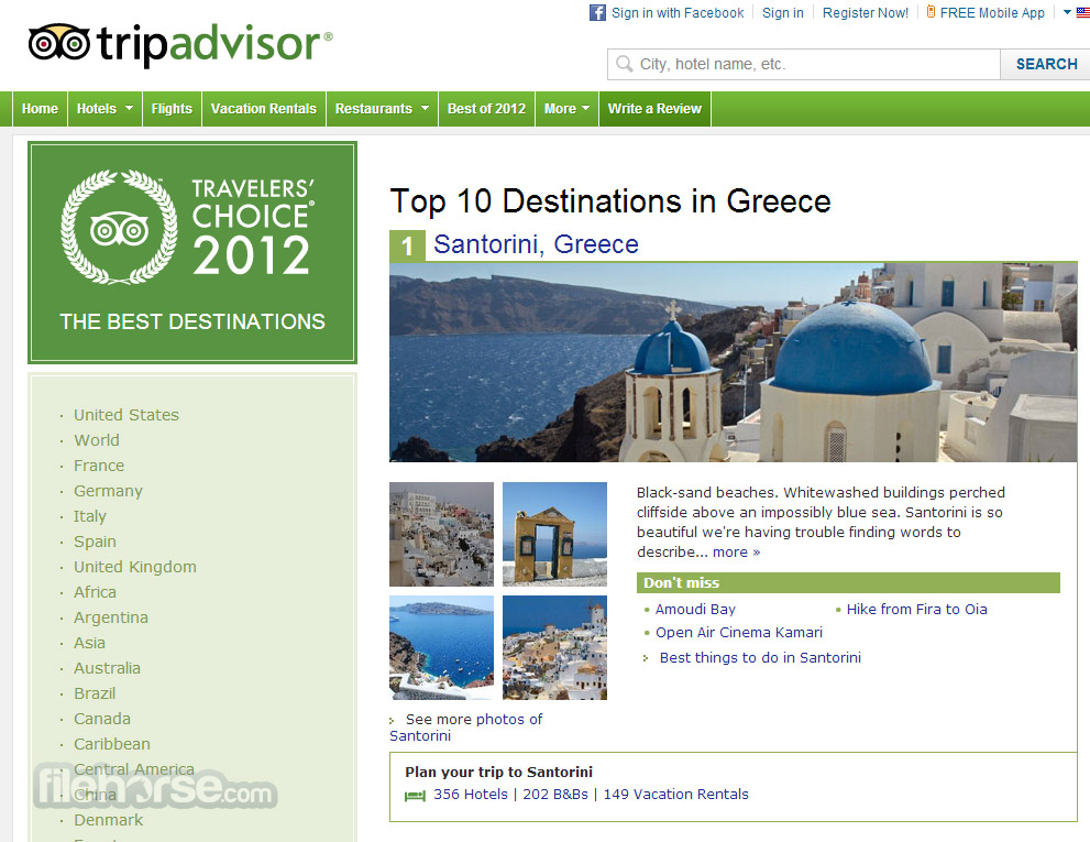 TripAdvisor Screenshot 4