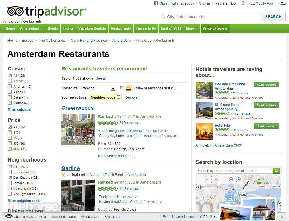 TripAdvisor Screenshot 5