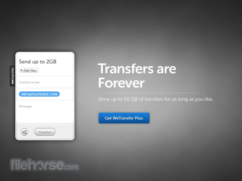 WeTransfer Screenshot 1