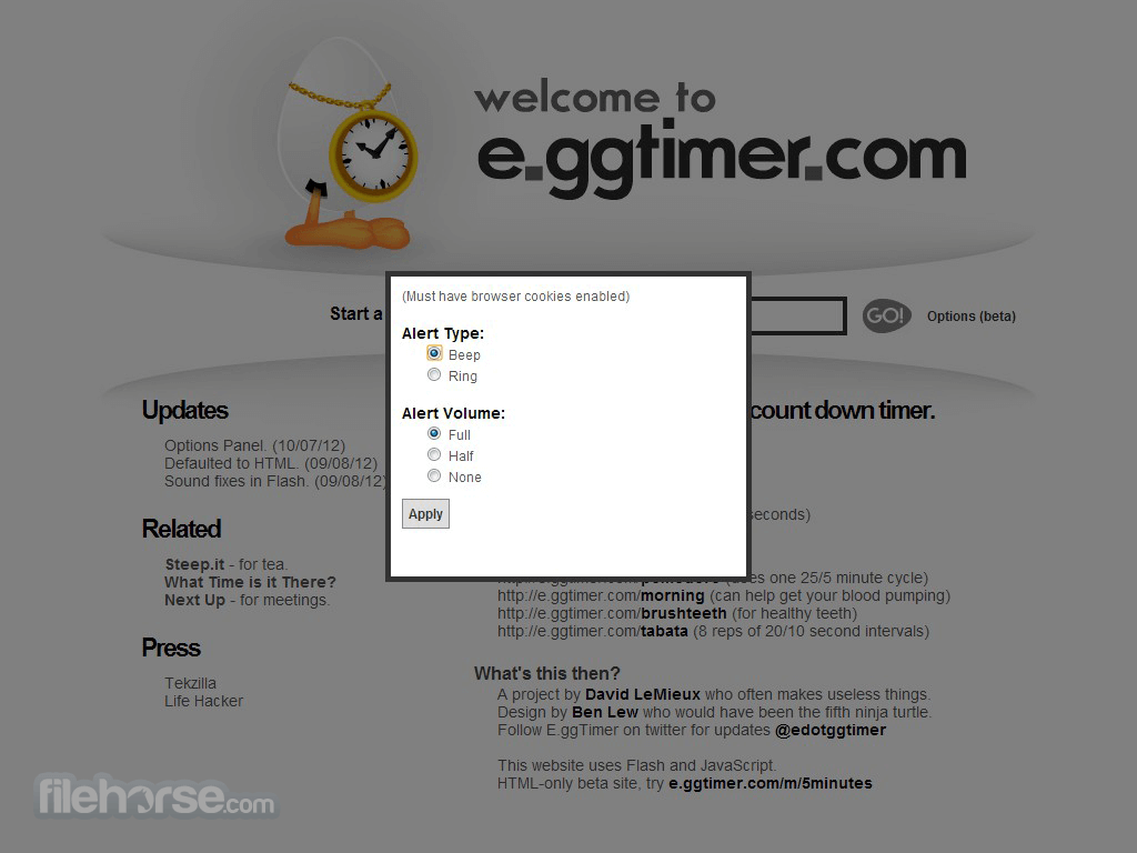 Egg Timer Screenshot 3