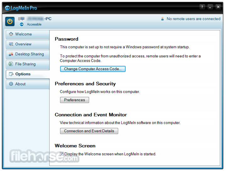 LogMeIn Screenshot 4