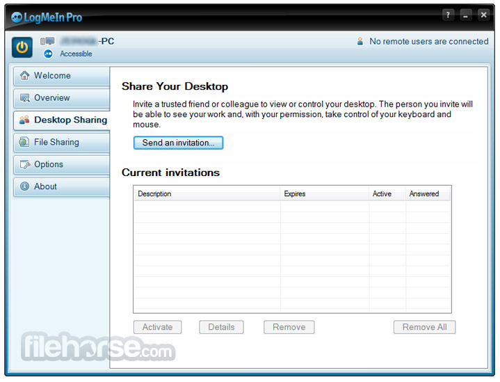 LogMeIn Screenshot 5