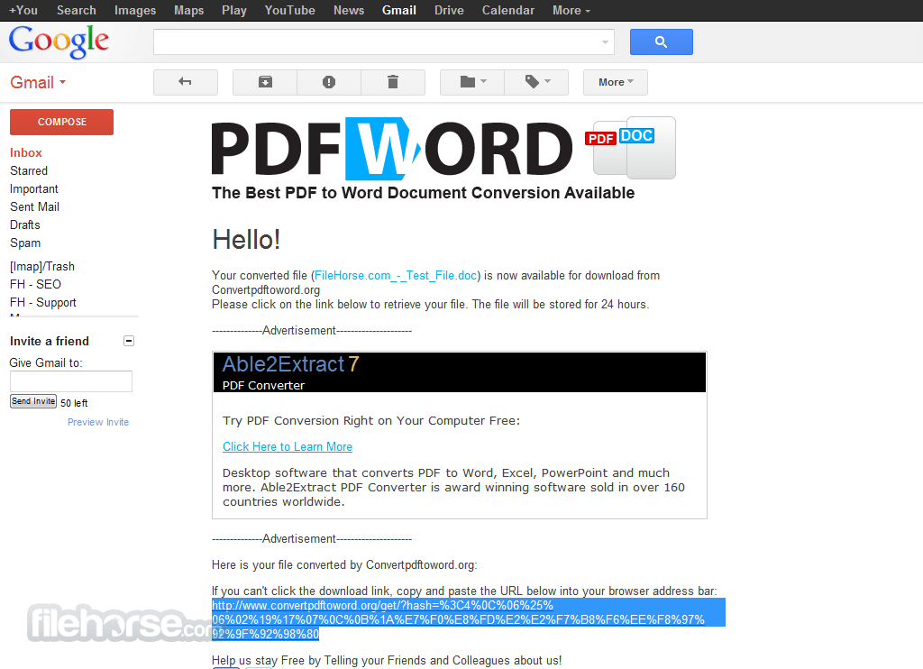 PDF to Word Screenshot 3