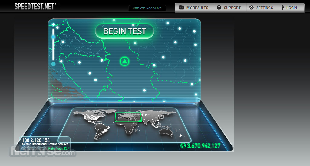 Speedtest.net Screenshot 1