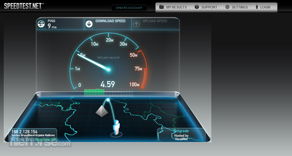 Speedtest.net Screenshot 2