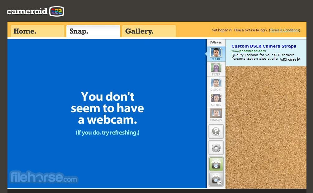Cameroid Screenshot 1