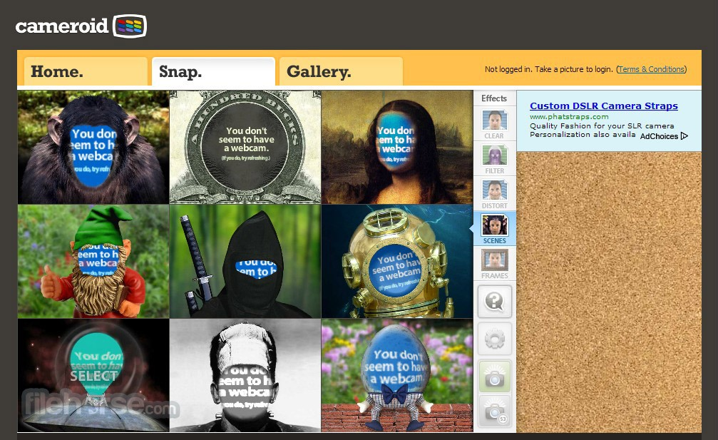 Cameroid Screenshot 2