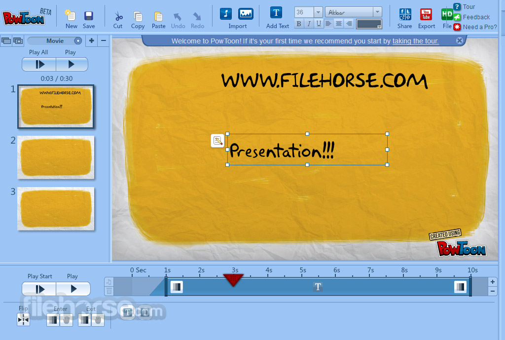 PowToon Screenshot 3