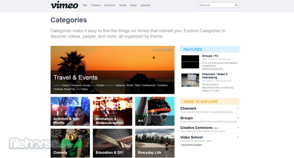 Vimeo Screenshot 5