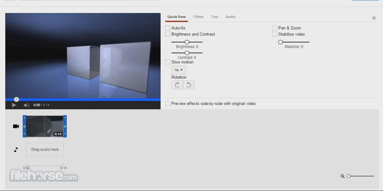 YouTube Video Editor Screenshot 2