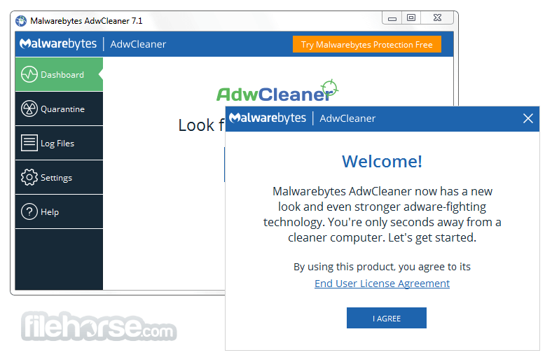 AdwCleaner 7.0.4.0 Screenshot 1