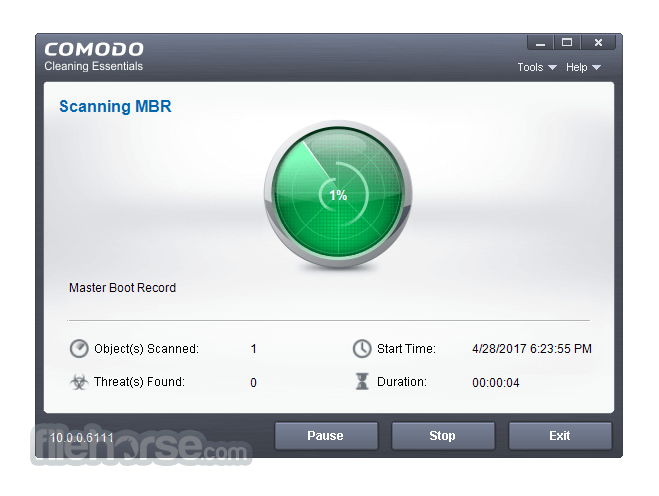 Comodo Cleaning Essentials 10.0.0.6111 (64-bit) Captura de Pantalla 2