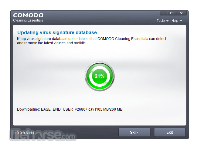 Comodo Cleaning Essentials 10.0.0.6111 (64-bit) Captura de Pantalla 3