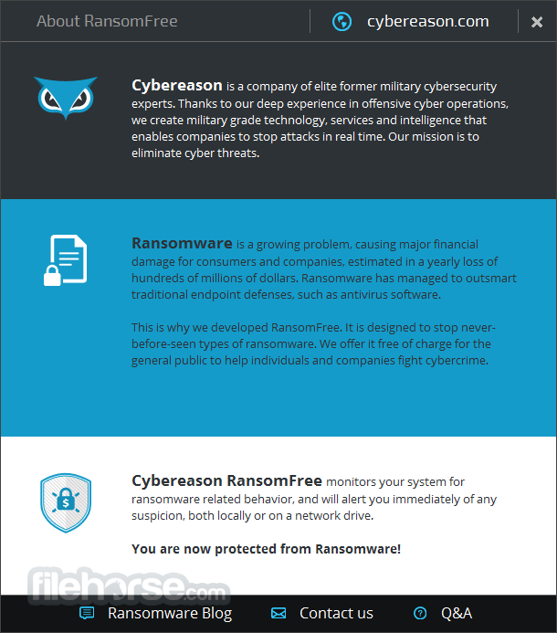 Cybereason RansomFree 2.4.2.0 Captura de Pantalla 3