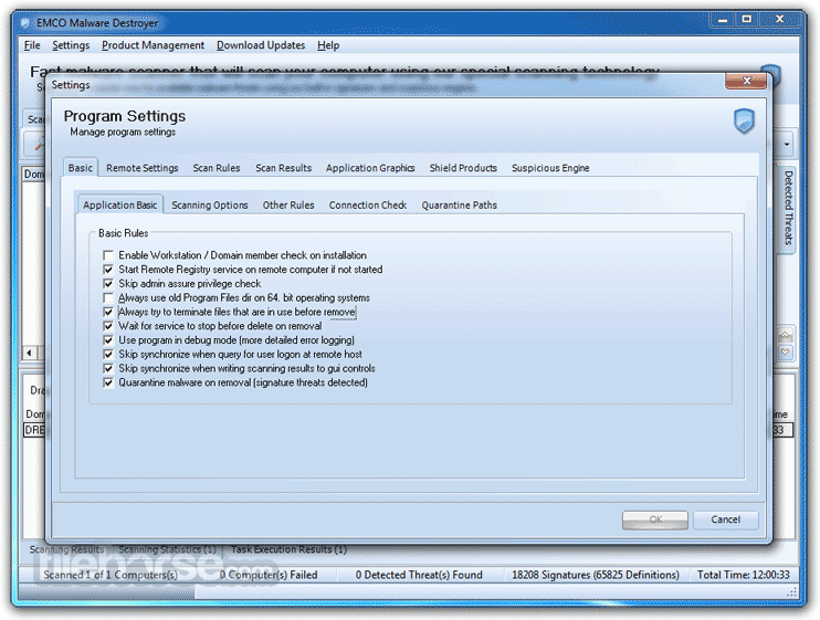 EMCO Malware Destroyer 8.2.25.1164 Screenshot 4