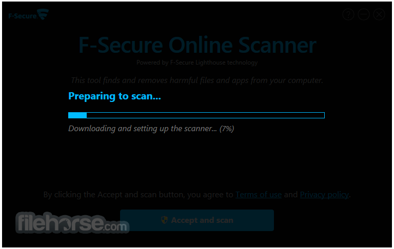 F-Secure Online Scanner 8.0.136.65 Captura de Pantalla 2