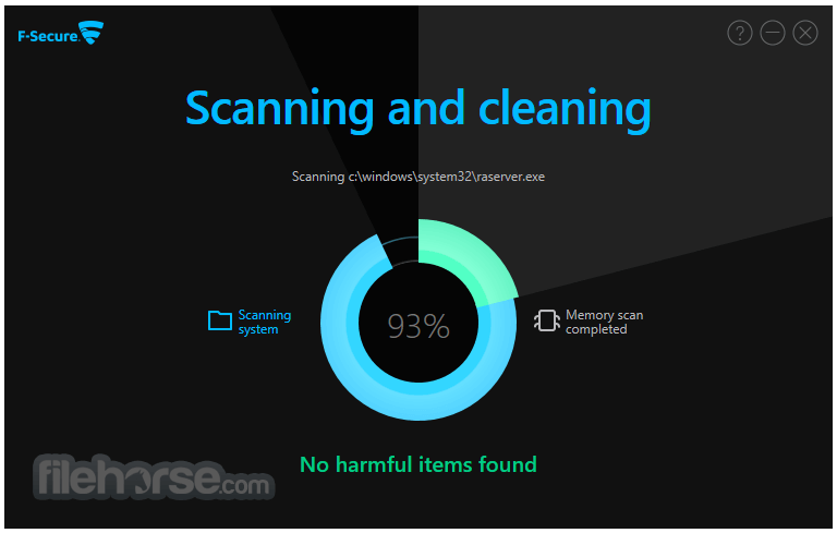 F-Secure Online Scanner 8.0.136.65 Captura de Pantalla 3