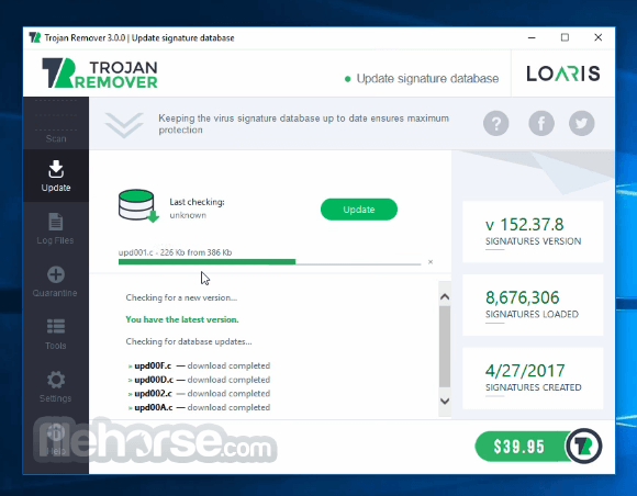 Loaris Trojan Remover 3.0.35.167 Screenshot 1