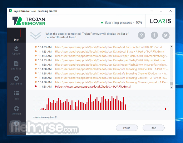 Loaris Trojan Remover 3.0.35.167 Screenshot 3