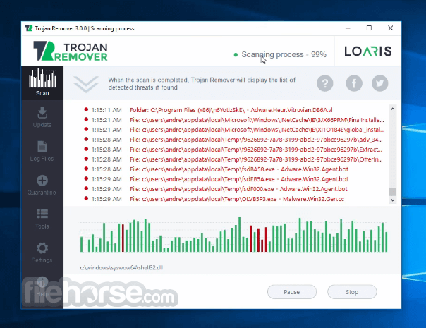 Loaris Trojan Remover 3.0.35.167 Screenshot 4
