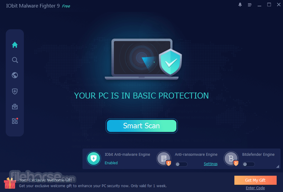 IObit Malware Fighter Free 8.4.0.760 Screenshot 1