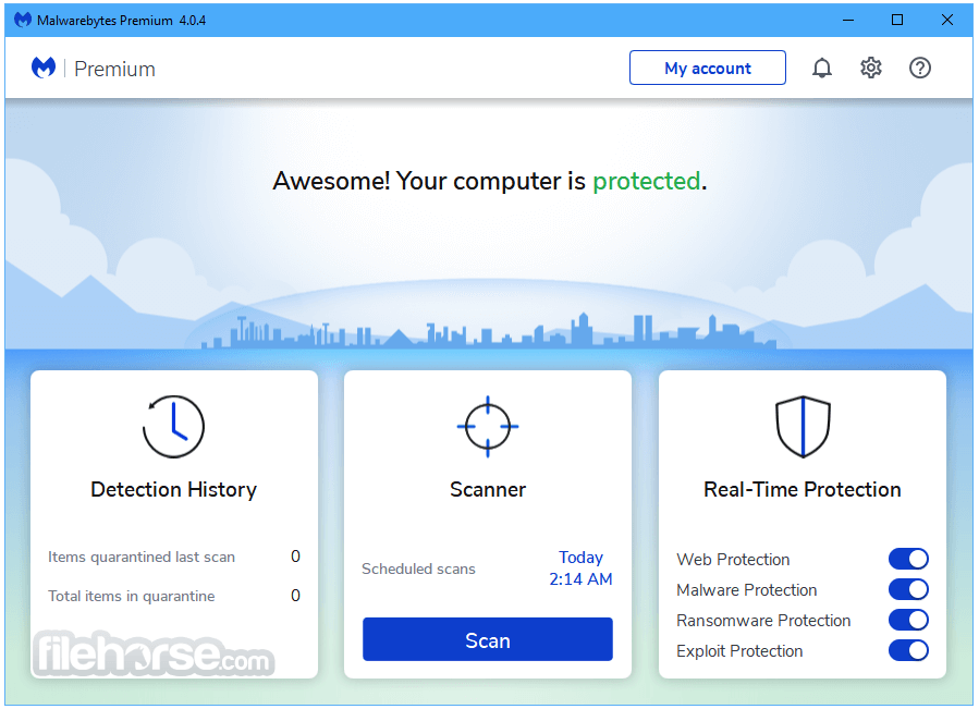 Malwarebytes 4.2.1 Screenshot 1