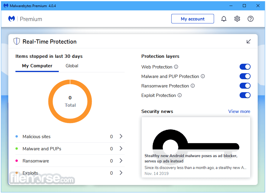 Malwarebytes 4.2.1 Screenshot 3