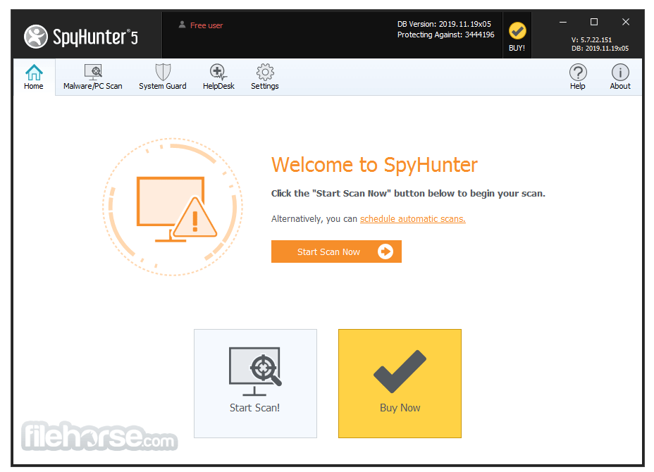 spyhunter for windows 10