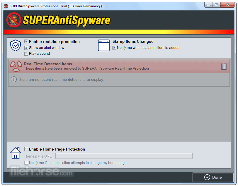SuperAntiSpyware 6.0.1258 Captura de Pantalla 4