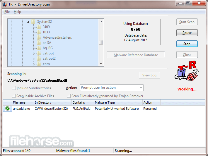 Trojan Remover 6.9.5 Build 2949 Captura de Pantalla 3