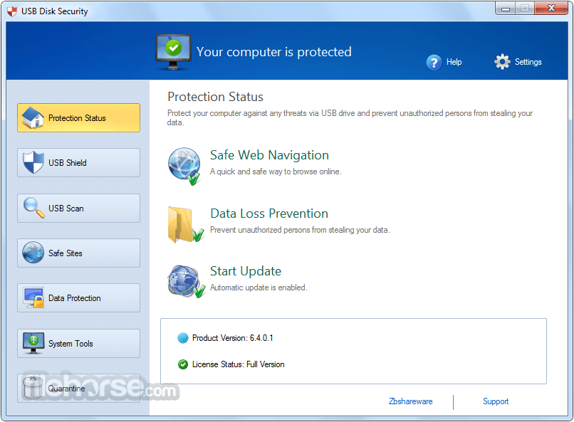 USB Disk Security 6.5.0.0 Screenshot 1