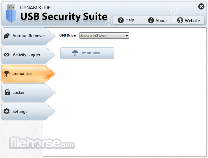 USB Security Suite 1.4.2 Captura de Pantalla 3
