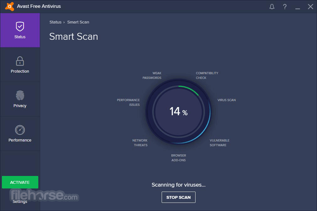 Avast Free Antivirus 20.10.5824 Screenshot 3
