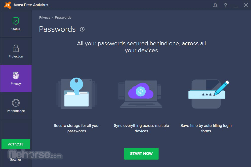 Avast Free Antivirus 11.1.2245 Screenshot 4