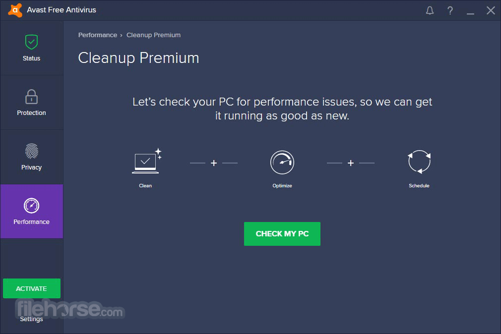 Avast Free Antivirus 18.8.4084 Screenshot 5
