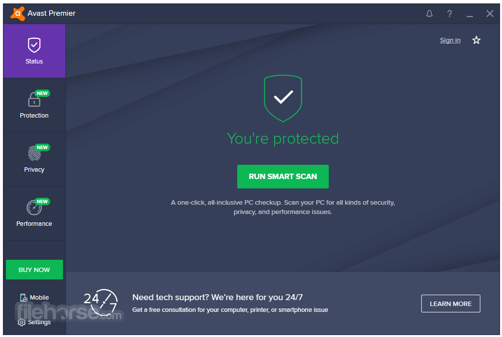 Avast Premier 18.3.2333.0 Screenshot 1