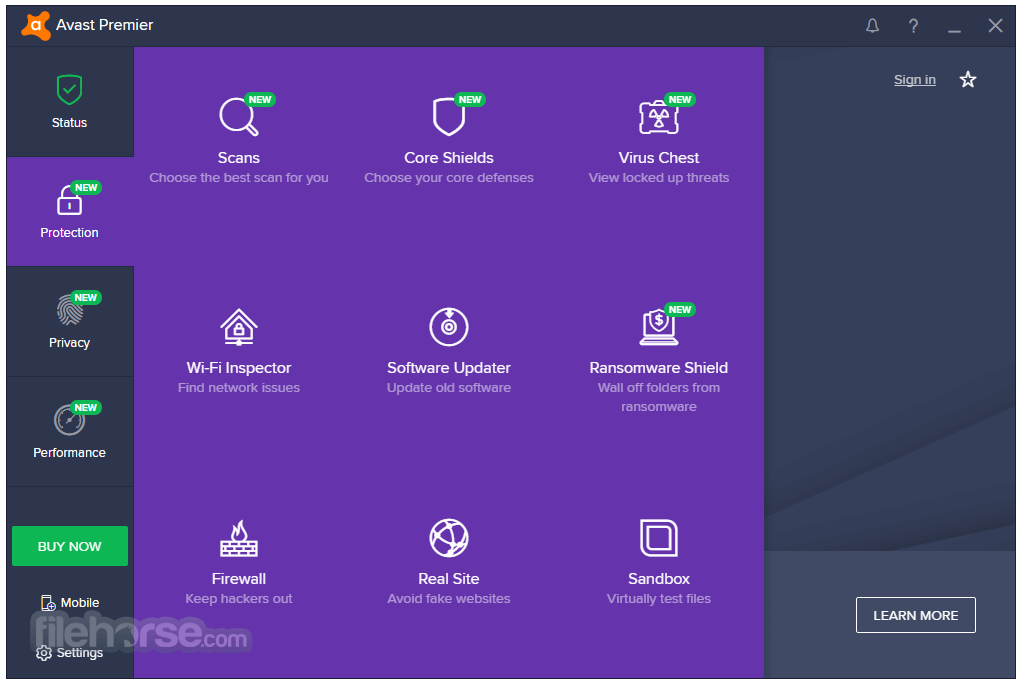 Avast Premier 18.3.2333.0 Screenshot 3