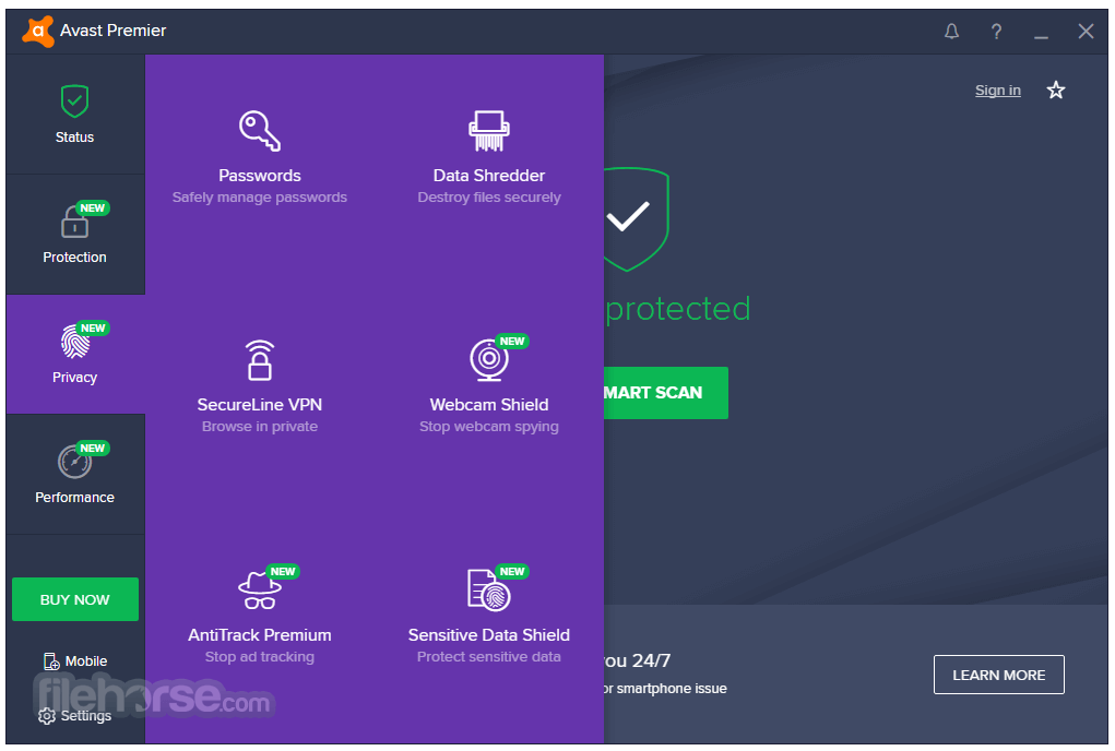 Avast Premier 18.3.2333.0 Screenshot 4