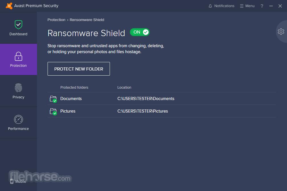 Avast Premium Security 21.3.6164 Captura de Pantalla 2
