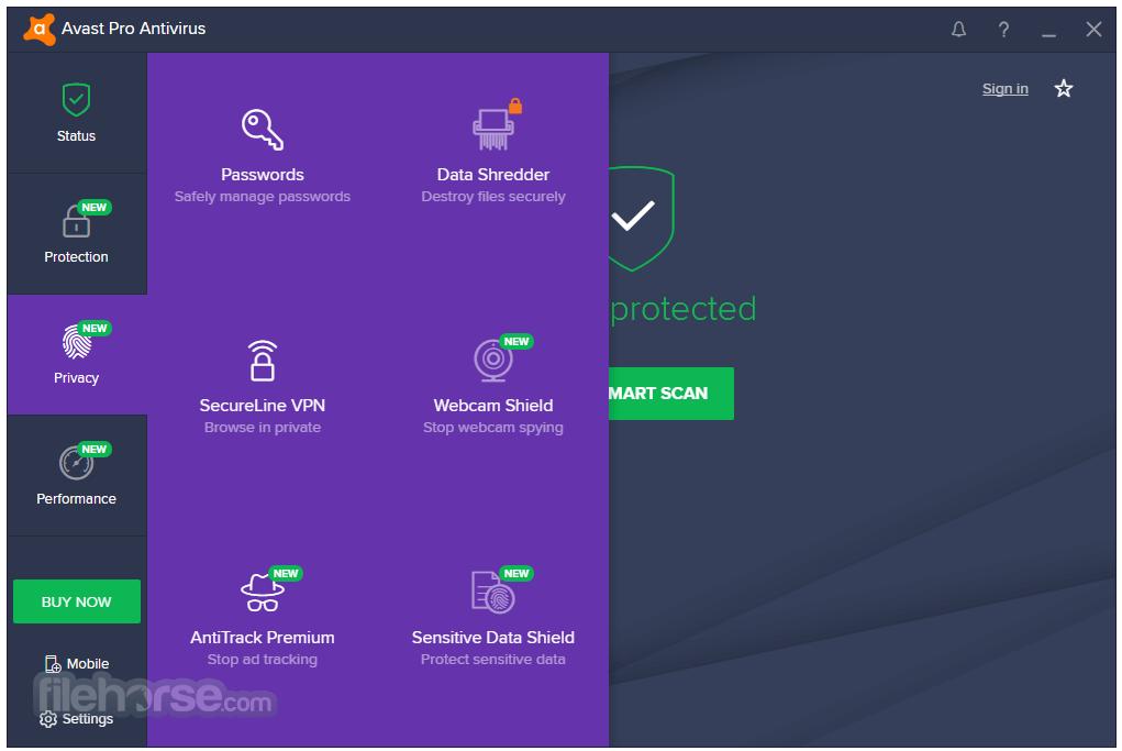 Avast Pro Antivirus 17.9.2322 Screenshot 4