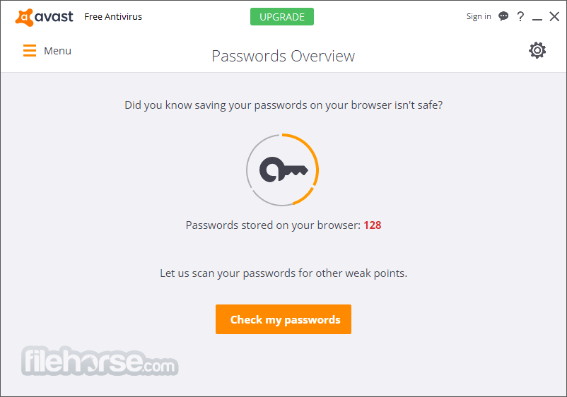 Avast. Home Edition 4.7.892 Screenshot 3.