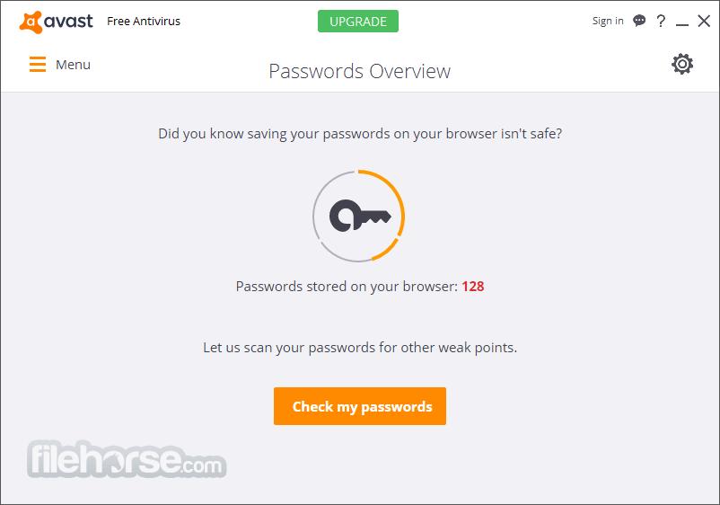Avast. Home Edition 4.7.892 Screenshot 3.