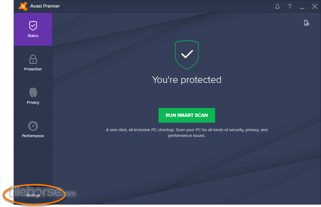 update virus database for avast