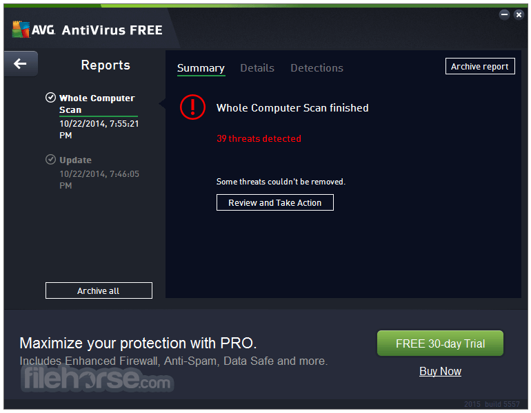 AVG AntiVirus Free 20.5.5410.0 (32-bit) Screenshot 3