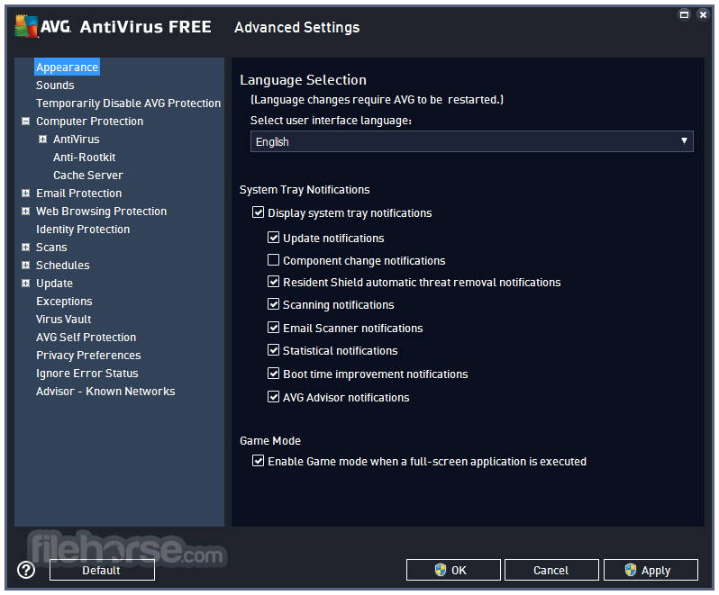 AVG AntiVirus Free 20.5.5410.0 (32-bit) Screenshot 5